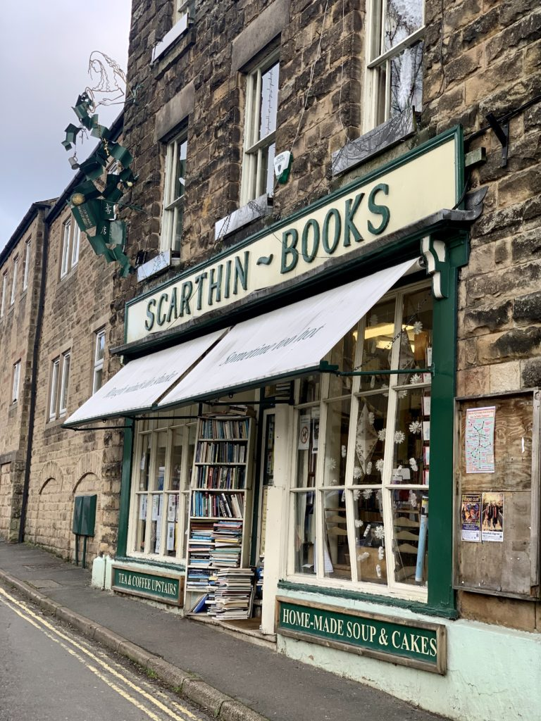 The best bookshop in Cromford - Scarthin books