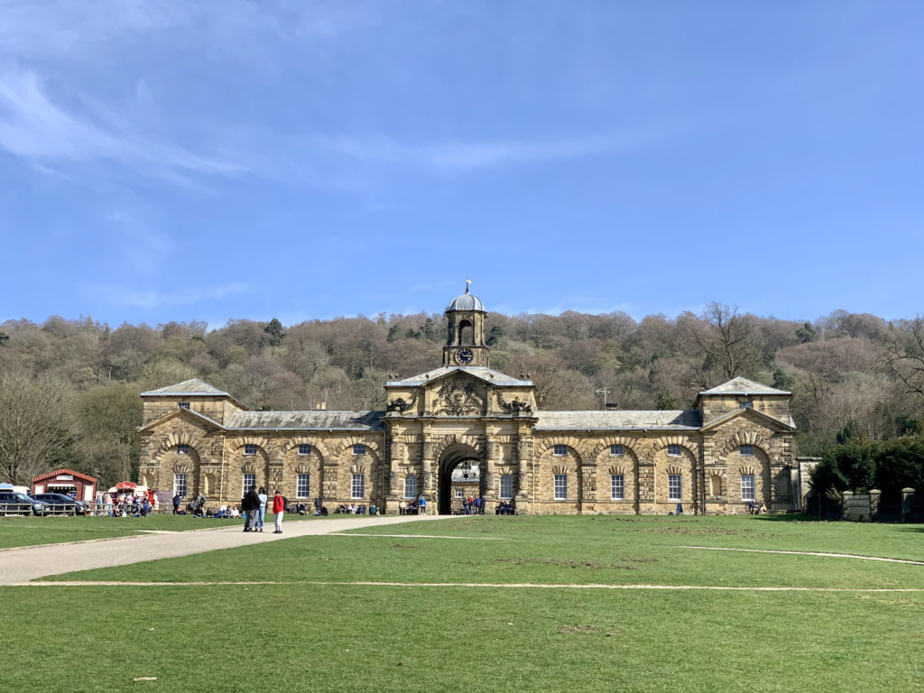The shop and cafe at Chatsworth House