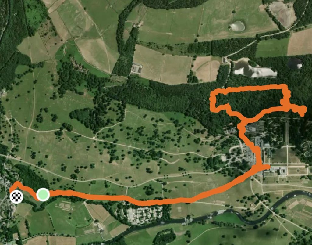 Short walks around Chatsworth - Baslow to the Hunting Tower