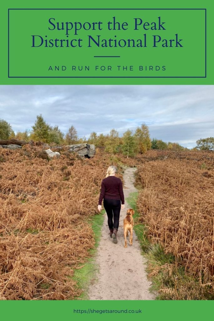 Support the Peak District National park and Run for the Birds