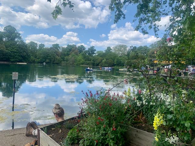 Victoria Park pond - weekend in Shoreditch