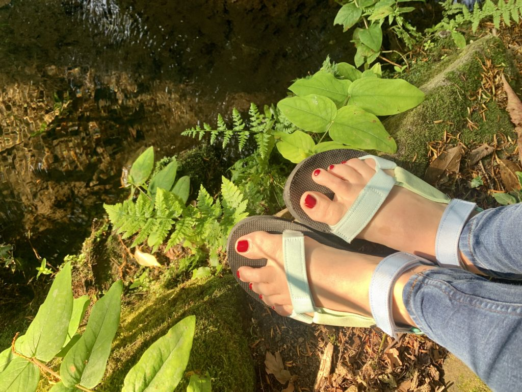 Teva Original sandals in pastel colours