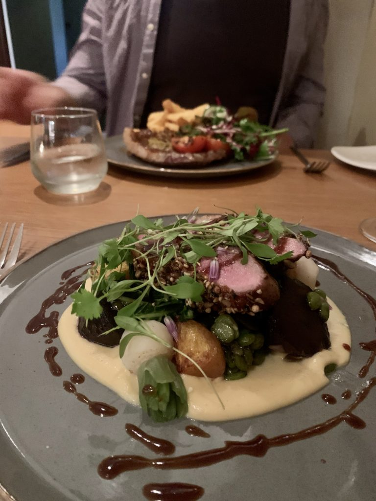 The Prince of Wales at Baslow - Best fine dining pub in the Peak District
